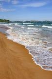 Mer et sable Photographie stock