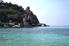 Mer et soleil de la Thaïlande Photos stock