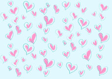 Mer förälskelser för valentin Royaltyfria Bilder