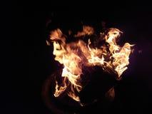 Mer flammar Royaltyfri Bild