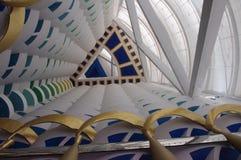 Mer geometrisk arkitektoniska former i upprepning Royaltyfria Bilder