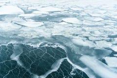 Mer glacée Images libres de droits