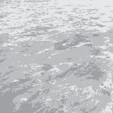 Mer grise plate illustration libre de droits