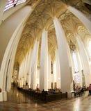 mer interier neo ny town för kyrklig gotisk korridor Royaltyfria Bilder