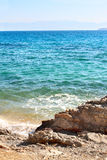 Mer ionienne du golfe de Corinthe, Grèce Photographie stock