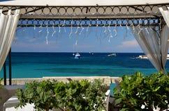 Mer Italie d'Otranto Photographie stock libre de droits