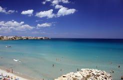 Mer italienne Image libre de droits