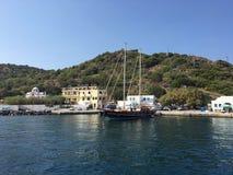 Mer KOS de yacht Image libre de droits