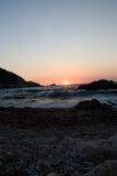 Mer l'Europe de plage de Leucade Grèce Image stock