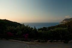 Mer l'Europe de plage de Leucade Grèce Photos libres de droits