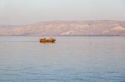Mer (lac) de la Galilée Tibériade Abaissez la Galilée l'israel Image stock