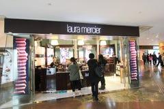 Mer mercier Laura shoppar i Hong Kong Arkivbild