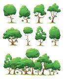 mer min set treesvektor för portfölj Royaltyfri Bild