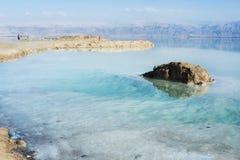 Mer morte en Israël Photo stock