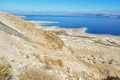 Mer morte en Israël Image stock