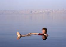 Mer morte, Jordanie Images libres de droits