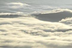 Mer nuageuse de matin Photographie stock libre de droits