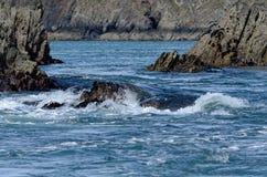 Mer occidentale du Pays de Galles images libres de droits