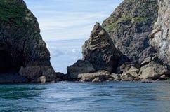 Mer occidentale du Pays de Galles image libre de droits