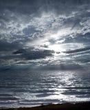 Mer orageuse photo stock