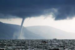 Mer orageuse Images libres de droits