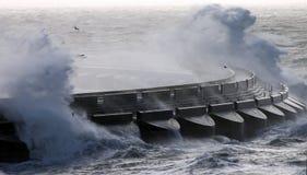 Mer orageuse photo libre de droits