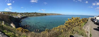 Mer panoramique Photo stock