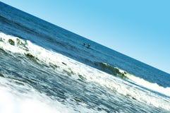 Mer par les pêcheurs locaux Photo stock
