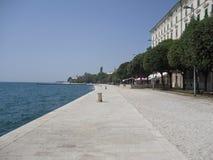 Mer par Zadar Kroatia image libre de droits