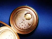 Mer poudrier fall för tappningpulveröverenskommelse Fotografering för Bildbyråer