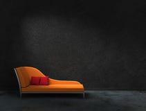 Mer recamier apelsin Fotografering för Bildbyråer