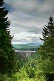 mer regnig mt-nationalpark Arkivfoto