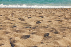 Mer, sable et dunes Photos stock
