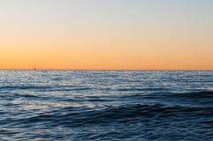 Mer sans fin Image stock