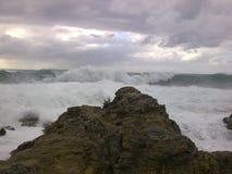 Mer sauvage Image libre de droits