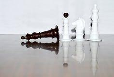 Mer schackstycken Fotografering för Bildbyråer
