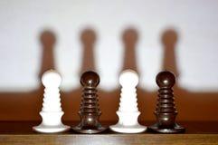 Mer schackstycken Royaltyfri Fotografi