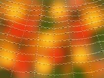 mer stor bakgrundscobweb royaltyfri illustrationer