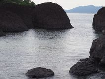 Mer sur la plage Photos libres de droits