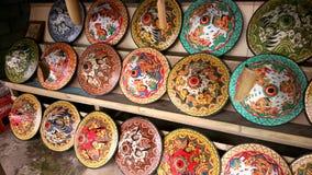 Mer suvenier hatt för Balinese Royaltyfri Bild