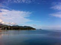 mer Thaïlande de vue Photo libre de droits