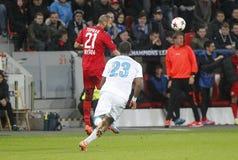 Ömer Toprak Bayer 04 Leverkusen v Zénith Saint-Pétersbourg Champion League Royalty Free Stock Photography