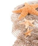 Mer trois les étoiles de différentes tailles Photos libres de droits