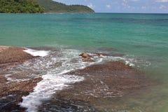 Mer tropicale image libre de droits