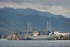 Merah Putih Bridge, Ambon City, Maluku, Indonesia Stock Photography