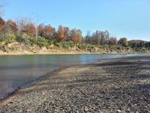 Meramec flod Arkivfoton