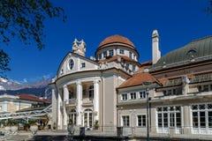 Meran, South Tyrol. Kurhaus in Meran, South Tyrol Stock Photos