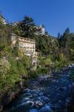 Meran, South Tyrol. Passer river in Meran, South Tyrol Stock Photography