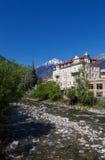 Meran, South Tyrol. Passer river in Meran, South Tyrol Stock Image