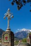Meran, South Tyrol. Post bridge in Meran, South Tyrol Stock Images